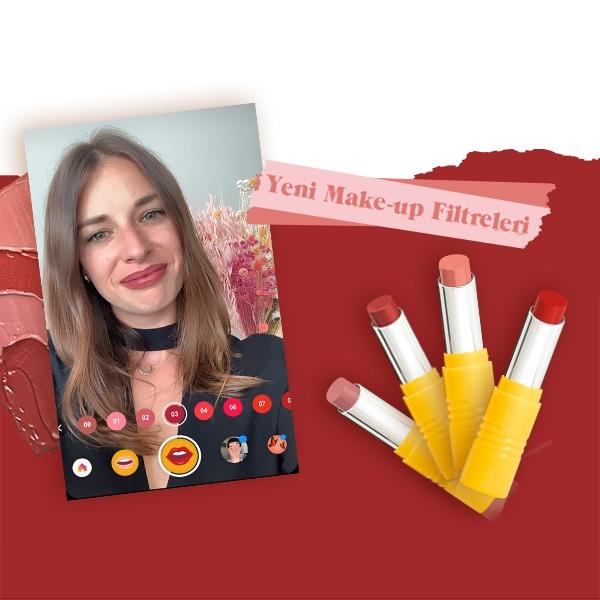 Yeni Make-up Filtreleri