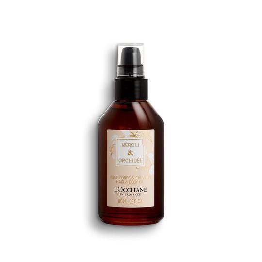 L'occitane Neroli & Orchidee Hair Body Oil - Portakal Çiçeği & Orkide Saç ve Vücut Yağı