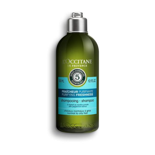 L'occitane Aromachology Purifying Freshness Shampoo - Aromakoloji Canlandırıcı Ferahlatıcı Şampuan