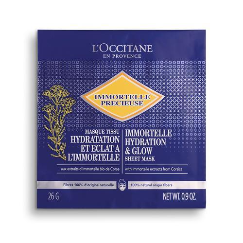 L'occitane Immortelle Nem & Işıltı Veren Kağıt Maske - Immortelle Hydrating & Glow Sheet Mask