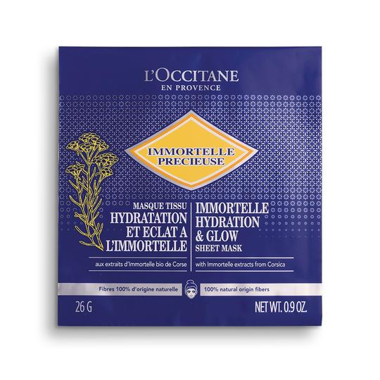 L'occitane Immortelle Hydrating & Glow Sheet Mask - Immortelle Nem & Işıltı Veren Kağıt Maske
