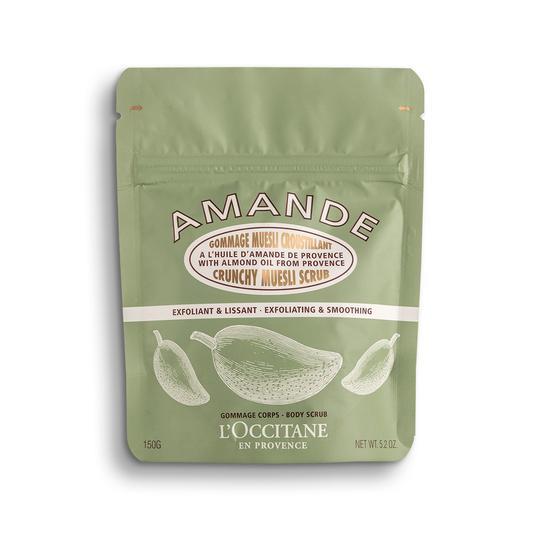 L'occitane Almond Crispy Muesli Scrub - Badem Müsli Vücut Peelingi