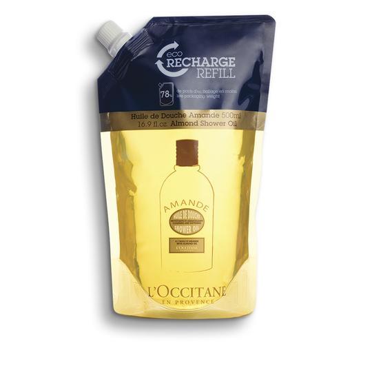 L'occitane Almond Shower Oil Eco-Refill - Badem Duş Yağı Ekolojik & Ekonomik Yedek