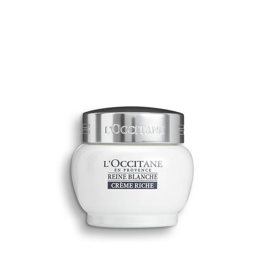 L'occitane Reine Blanche White Infusion Rich Cream - Reine Blanche Yoğun Aydınlatıcı Krem