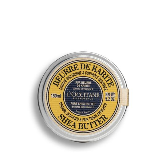 L'occitane Shea organic certified* and fair trade approved * Pure Shea Butter - Organik Shea Yağı