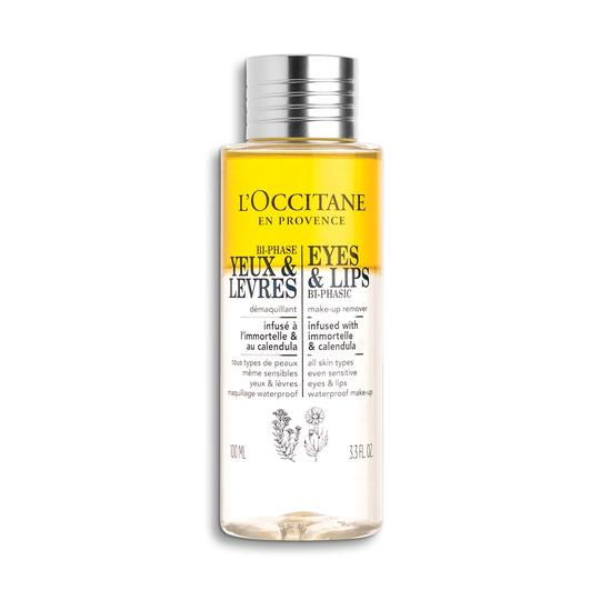 L'occitane Infusions Eyes & Lips Bi-Phasic Make-up Remover - Infusions Göz & Dudak Makyajı Temizleyicisi