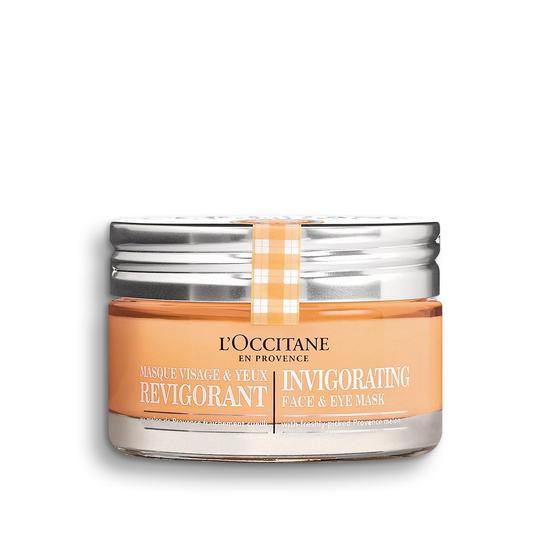 L'occitane Invigorating Face & Eye Mask - Canlandırıcı Yüz & Göz Maskesi
