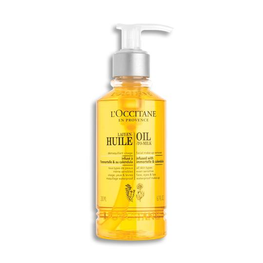 L'occitane Infusions Oil-To-Milk Facial Make-up Remover - Infusions Temizleme Yağı