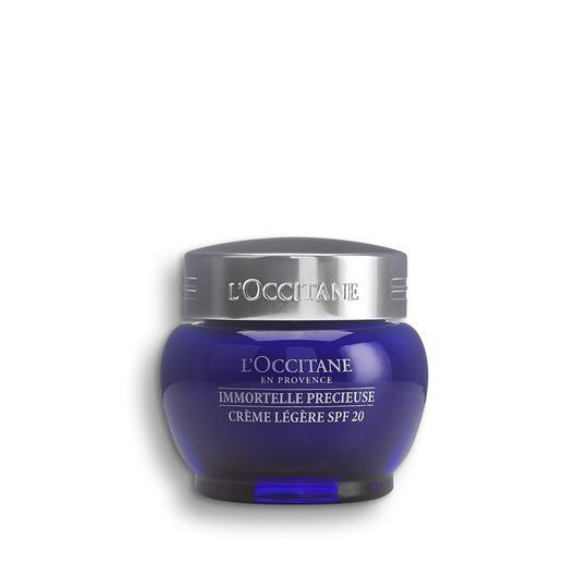 L'occitane Ölmez Otu Precious Krem SPF20 - Immortelle Precious Cream Light Texture SPF20