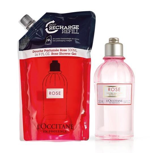 L'occitane Rose Duş Jeli Ekonomik Yedek İkilisi