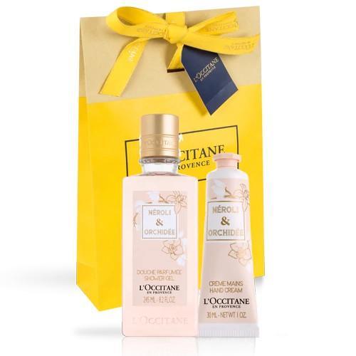 L'occitane Neroli & Orchidee El kremi & Duş Jeli İkilisi - Neroli & Orchidee Hand Cream & Shower Gel Duo