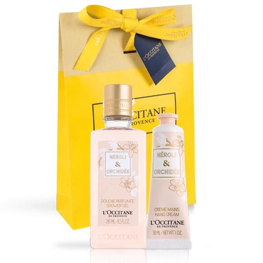 L'occitane Neroli & Orchidee Hand Cream & Shower Gel Duo - Neroli & Orchidee El kremi & Duş Jeli İkilisi
