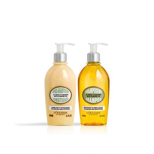 Badem Şampuan ve Saç Kremi