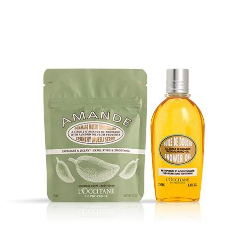 L'occitane Badem Duş Yağı ve Müsli İkilisi