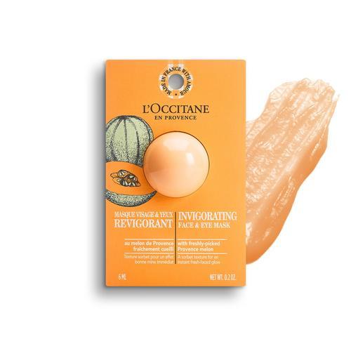 L'occitane Invigorating Face & Eye Mask- Canlandırıcı Yüz & Göz Maskesi