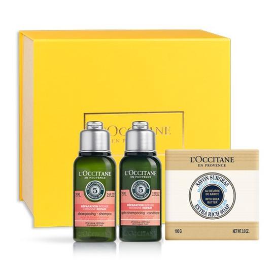 L'occitane Aromakoloji Onarıcı Saç Bakımı Seyahat Seti