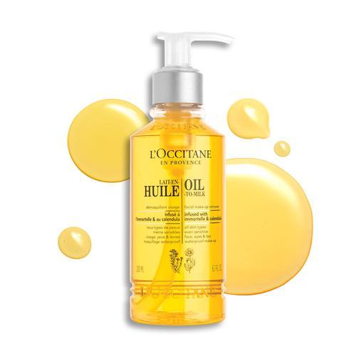 L'occitane Infusions Oil-To-Milk Facial Make-up Remover - Infusions Temizleme Yağı