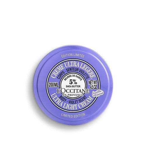 L'occitane OMY Shea Ultra Light Body Cream - Violet Scented