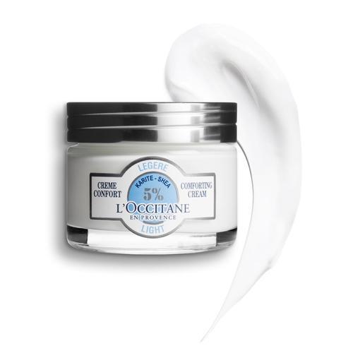 L'occitane Shea Light Comforting Cream - Shea Karma Ciltler için Nemlendirici
