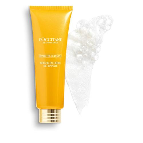 L'occitane Immortelle Divine Cleansing Cream-in-Foam - Temizleyici Köpük