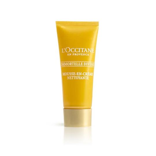 L'occitane Immortelle Divine Cleansing Cream-in-Foam - Temizleyici Köpük
