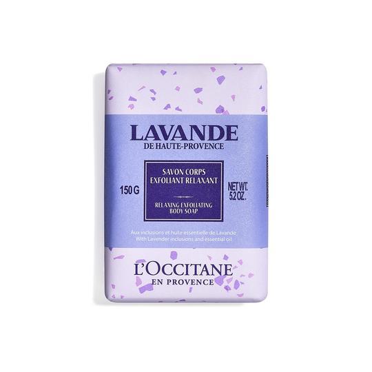 L'occitane Lavender Relaxing Exfoliating Body Soap - Lavanta Rahatlatıcı Vücut Peeling Sabunu