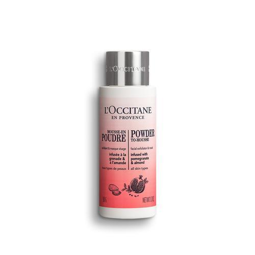 L'occitane Infusions Powder to-Mousse Facial Exfoliator - Infusions Temizleyici Pudra Köpük