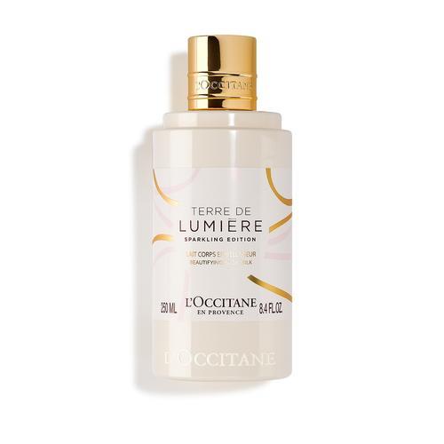 L'occitane Terre de Lumiere Sparkling Beautyfying Body Milk - Terre de Lumiere Sparkling Vücut Losyonu