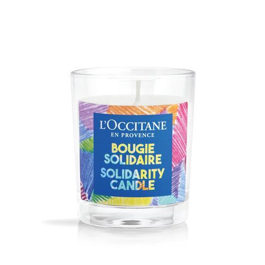 L'occitane Solidarity Vanilya Kokulu Mum - Solidarity Vanilla Candle