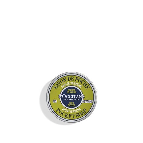 L'occitane Shea Verbena Cep Sabunu - Shea Verbena Pocket Soap